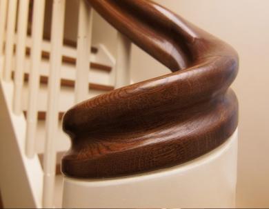 Detale schodów- poręcż