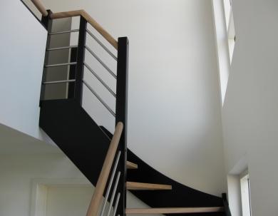 CZarne schody marynarskie